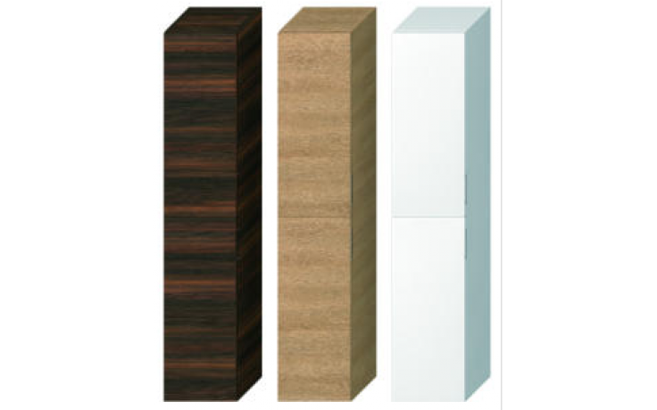 JIKA CUBITO-N skříňka 321x322x1636mm vysoká, levopravá, tmavá borovice