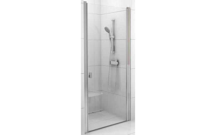 Zástěna sprchová dveře Ravak sklo Chrome CSD1 900x1950mm satin/transparent
