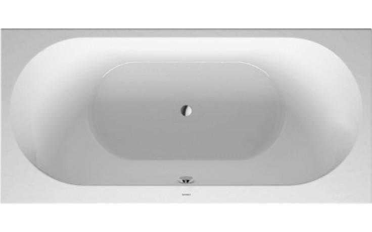 DURAVIT DARLING NEW obdélníková vana 1900x900mm na zabudování, akrylát, bílá