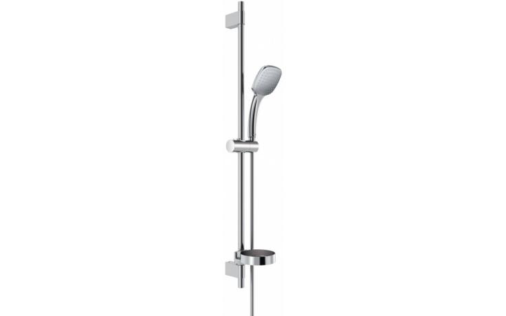 IDEAL STANDARD IDEALRAIN CUBE set M1 1-funkční ruční sprcha 100x100mm/sprchová tyč 900mm chrom B0085AA