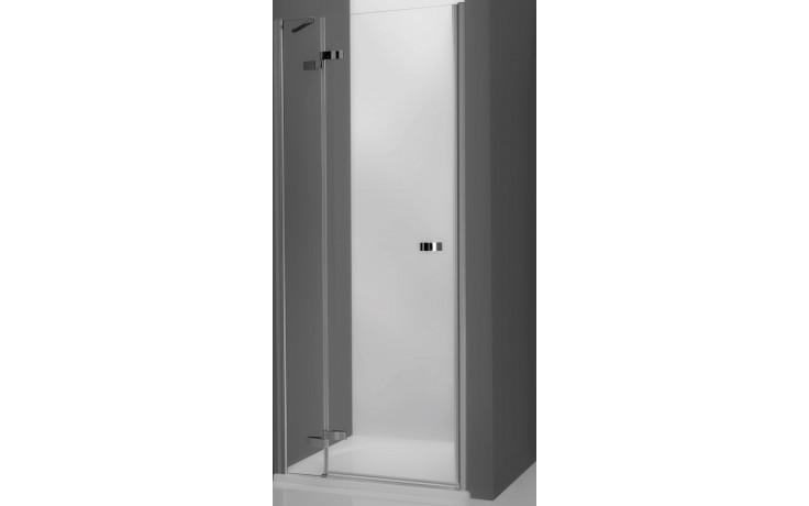ROLTECHNIK ELEGANT LINE GDNL1/900 sprchové dveře 900x2000mm levé jednokřídlé pro instalaci do niky, bezrámové, brillant/transparent