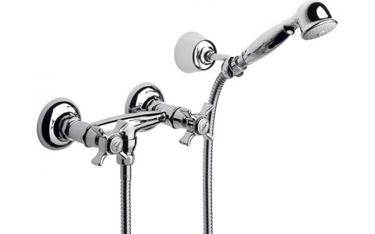 ROCA FLORENTINA sprchová nástěnná baterie se sprchou, hadicí a držákem chrom 75062222A0