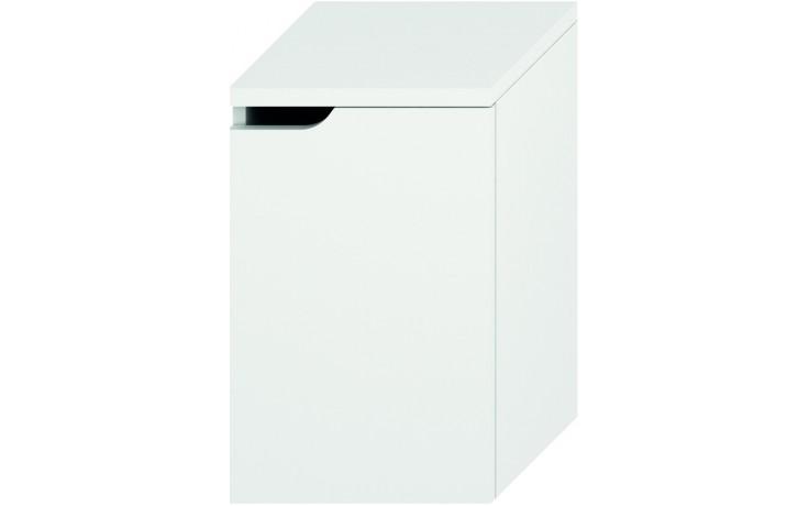 Nábytek skříňka Jika Mio střední pravá 36,3x57,1x34 cm bílá-bílá