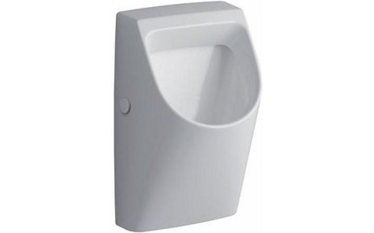 KERAMAG RENOVA NR. 1 PLAN pisoár 58x32,5cm s automatickým splachovačem, odpad dozadu, bílá/Keratec 235106600