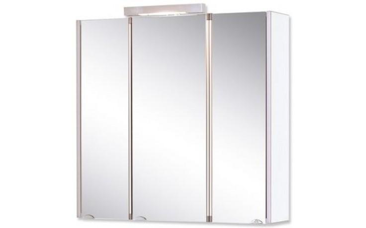 JOKEY MONDAL III. zrcadlová skříňka 73x73cm s osvětlením, bílá