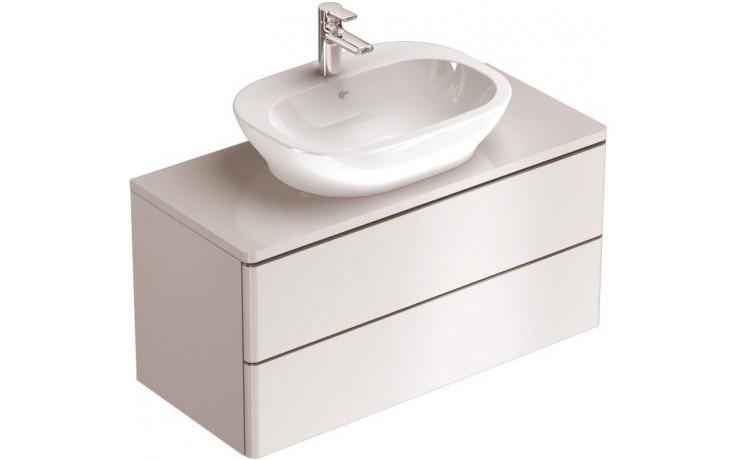 Nábytek skříňka pod umyvadlo Ideal Standard SoftMood 100x44x47,5 cm lesklý lak bílý