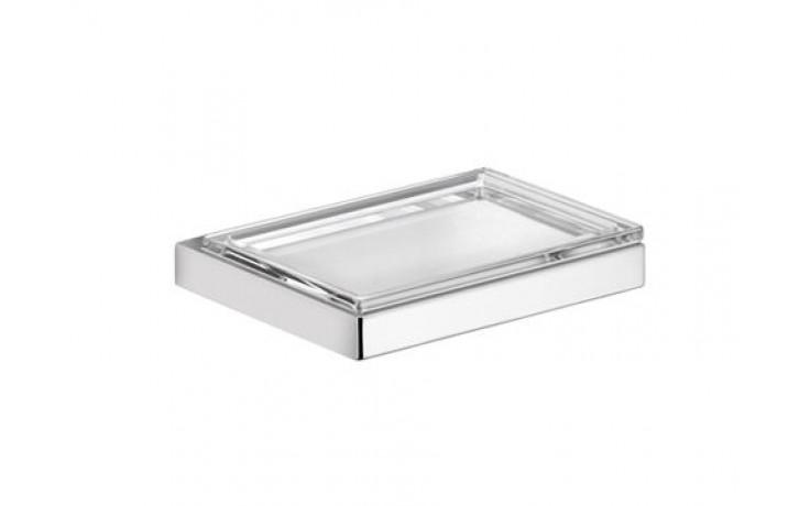 Doplněk držák s mýdlenkou Keuco Edition 11  chrom/křišťálové sklo