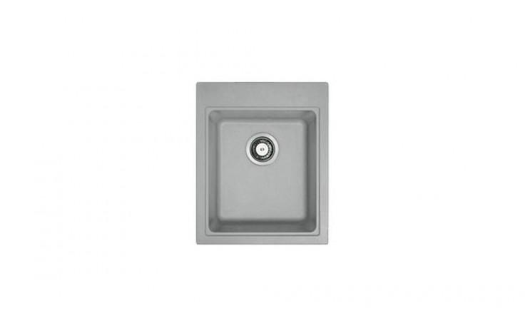 Dřez speciální Franke jednoduchý Kubus KSG 218 fragranitový 425x520mm šedý kámen