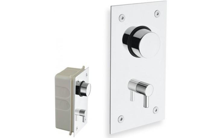 SILFRA QUIK 4 podomítkový ventil, sprchový, závitový, 120x210mm chrom Q4 152 51