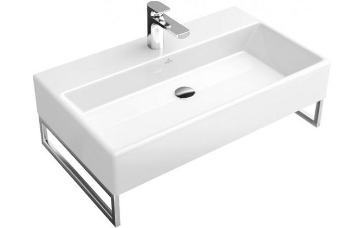 VILLEROY & BOCH MEMENTO umyvadlo 800x470mm bez přepadu Bílá Alpin CeramicPlus 513381R1