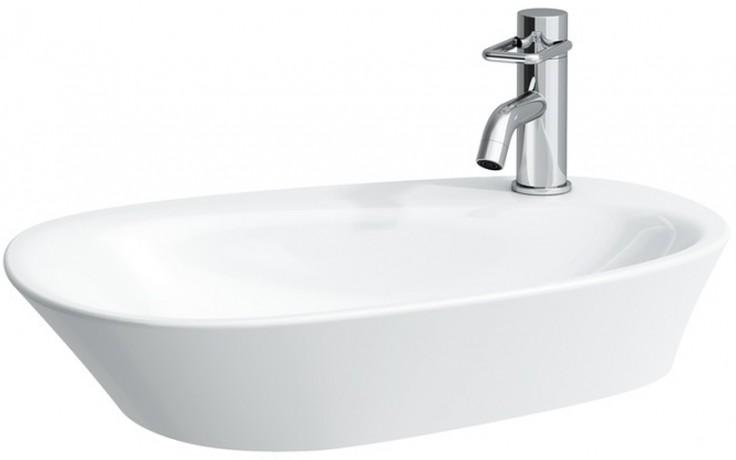 Mísa umyvadlová Laufen bez otvoru Palomba 60 cm bílá