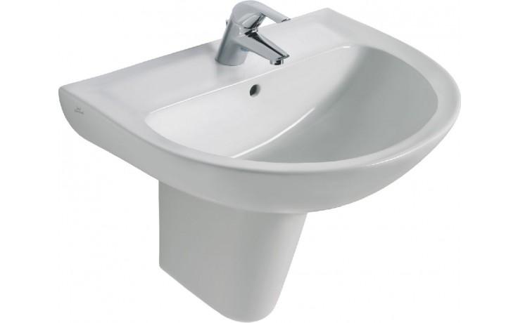 IDEAL STANDARD EUROVIT umyvadlo 650x475x215mm, s otvorem, bílá