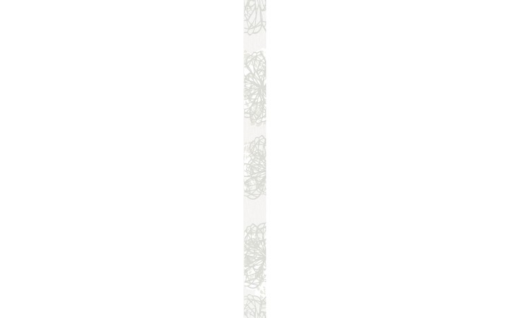 Listela Villeroy & Boch Charming Day 5x70 cm šedá