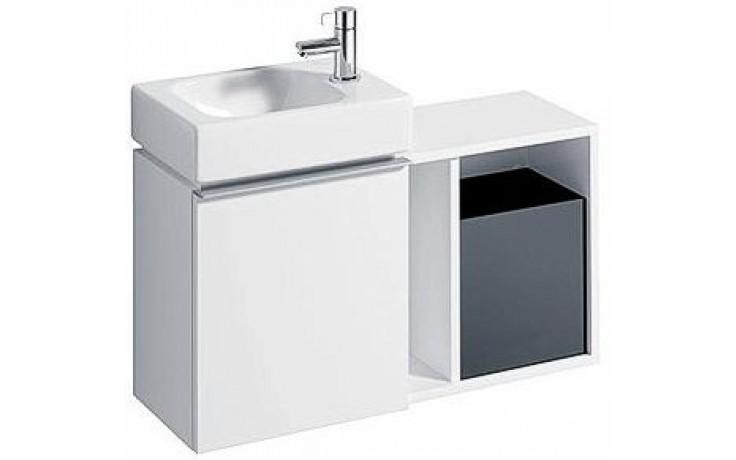 KERAMAG ICON XS postranní prvek 37x24,5cm závěsný, bílá lesklá 840137000