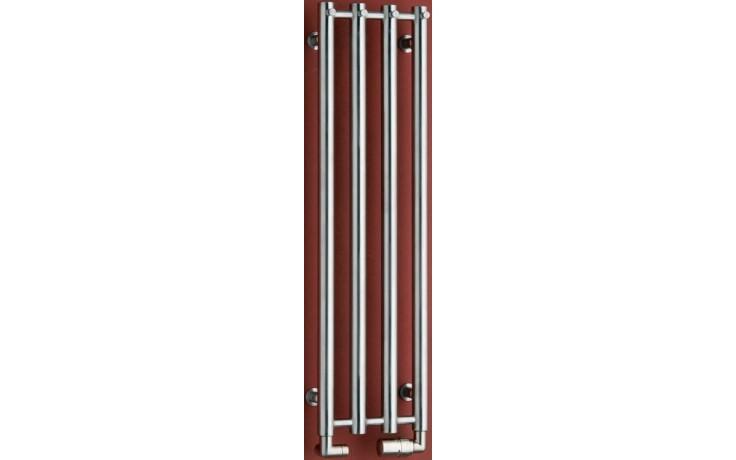 P.M.H. ROSENDAL R1SS/6 koupelnový radiátor 420950mm, 372W, nerez