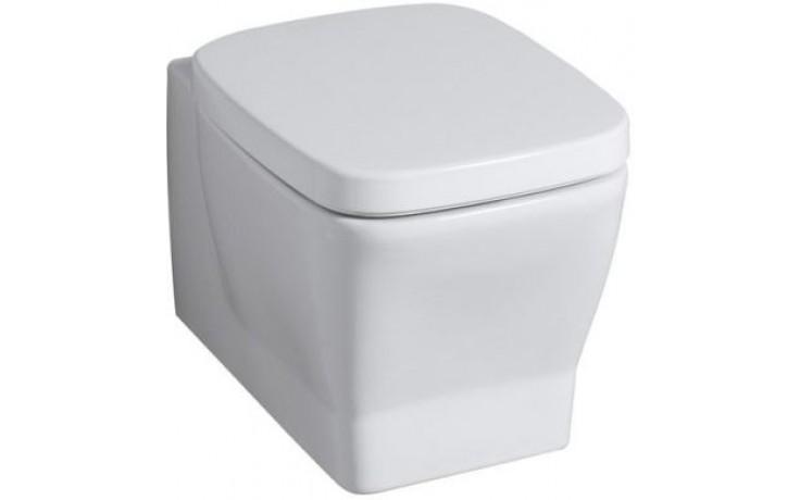 WC závěsné Keramag odpad vodorovný Silk 6 l bílá