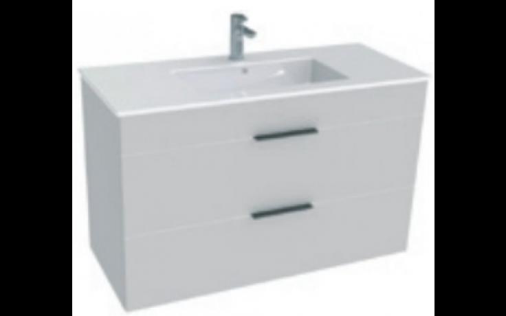 JIKA CUBE skříňka s umyvadlem 1000x340x607mm, bílá/bílá 4.5365.2.176.300.1