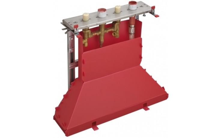 Baterie vanová Hansgrohe stojánková kohoutková základní těleso k 4-otvorové armatuře na vanový sokl