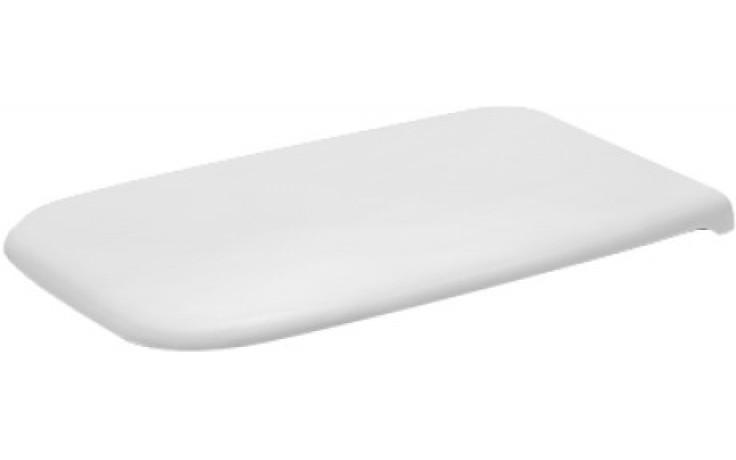 Sedátko WC Duravit duraplastové s kov. panty D-Code se sklápěcí automatikou, odnímatelné  bílá
