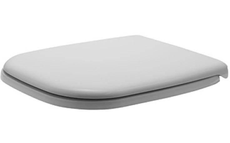 DURAVIT D-CODE WC sedátko bez sklápěcí automatiky, bílá 0067410000