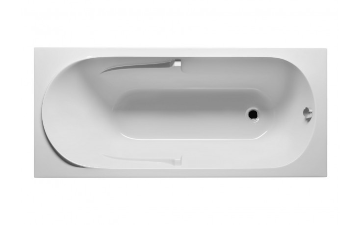 Vana plastová Riho klasická Future 170 170x75cm bílá