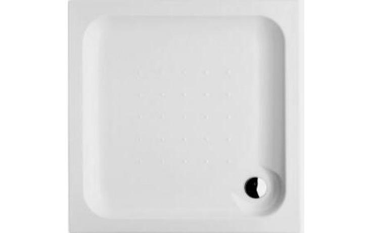 Vanička plastová Jika čtverec Olymp vestavná 80x80 cm bílá