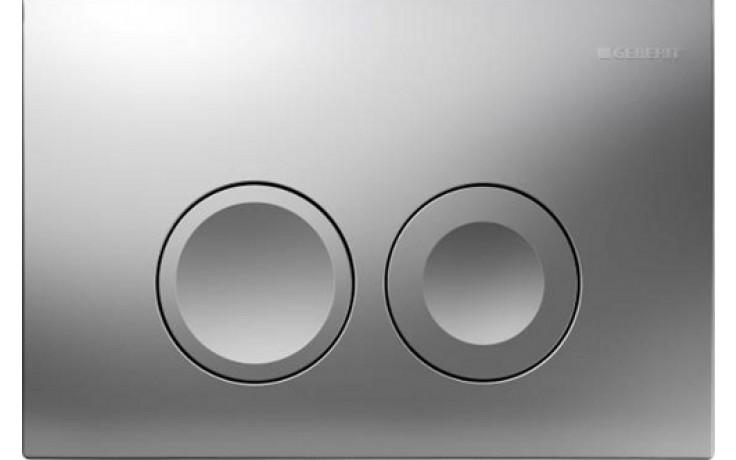 GEBERIT DELTA 21 ovládací tlačítko 24,6x16,4cm, chrom mat 115.125.46.1
