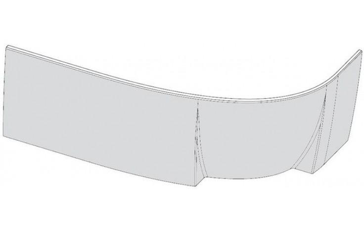 RAVAK ROSA 95 L panel A 1600x565mm čelní, levý, snowwhite