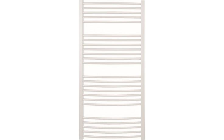 CONCEPT 100 KTOE radiátor koupelnový 500W elektrický prohnutý, bílá