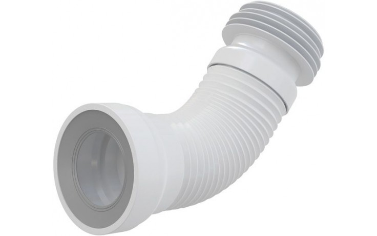 CONCEPT flexi napojení k WC, 80/110100/120mm, bílá