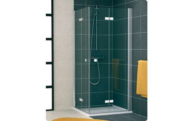 Zástěna sprchová dveře Ronal sklo Swing-Line F SLF2D 0800 50 07 800x1950 mm aluchrom/čiré AQ