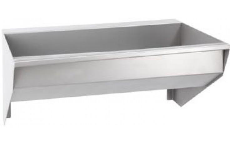 AZP BRNO AUL 04.4 umývací žlab 2995x400mm, závěsný, nerez ocel