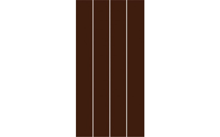 RAKO CONCEPT PLUS dekor 20x40cm hnědá WIFMB009
