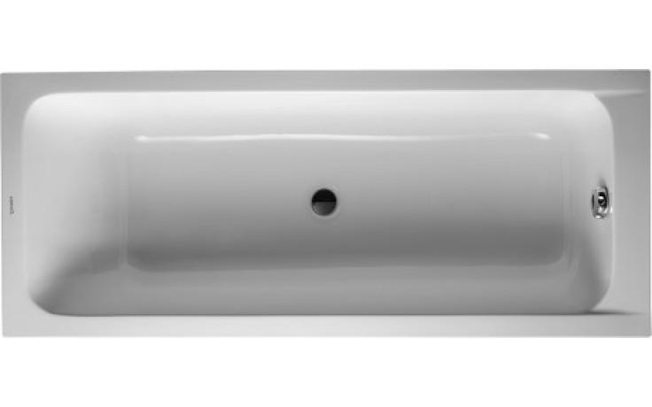 DURAVIT D-CODE vana obdélník 1700x700mm na zabudování, bílá 700097000000000