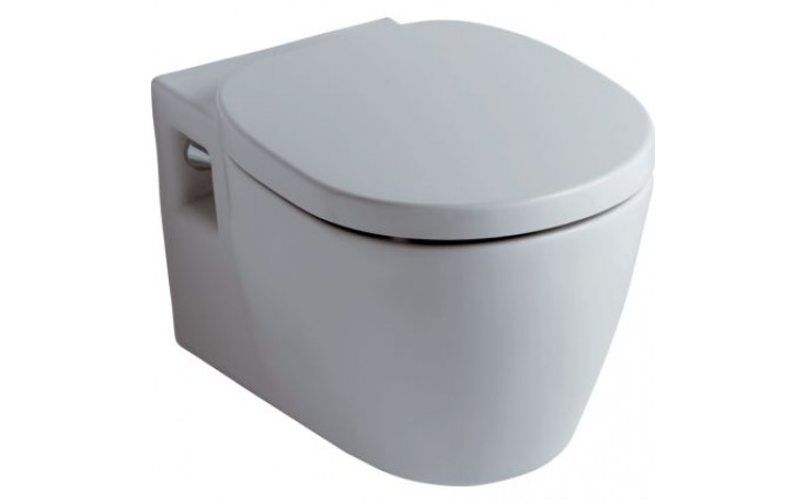 WC závěsné Ideal Standard odpad vodorovný Connect hluboké splachování  bílá+IdealPlus