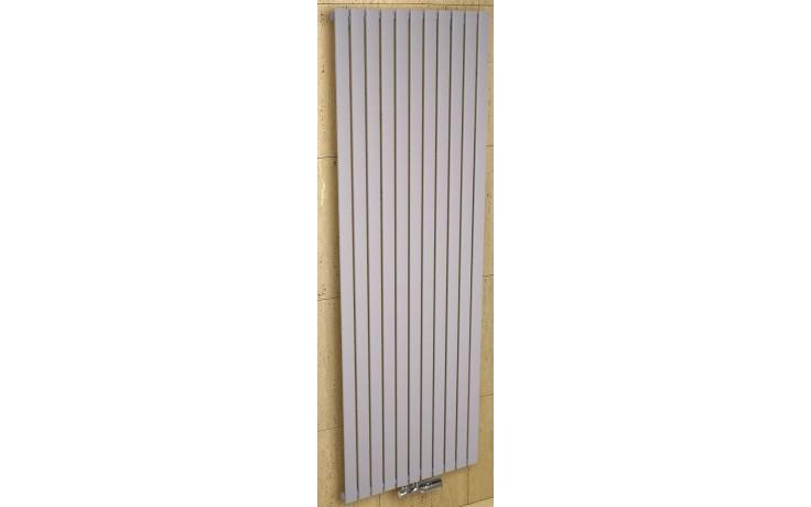 CONCEPT 200 LYRA radiátor koupelnový 866W designový, středové připojení, sněhově bílá