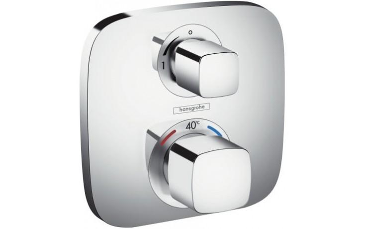 HANSGROHE ECOSTAT E baterie termostatická, pod omítku, s uzavíracím ventilem chrom 15707000