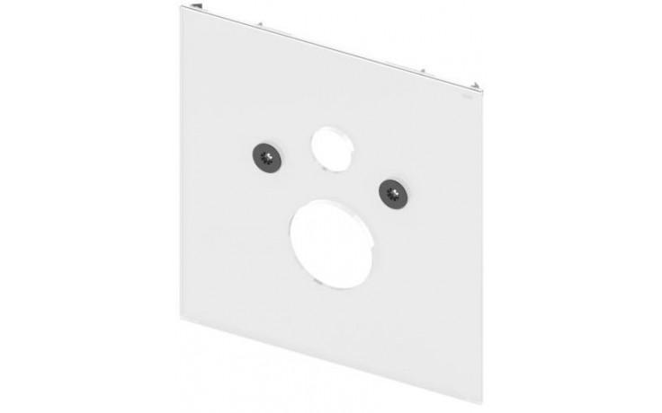 TECE LUX skleněná deska 430x16x446mm dolní, pro standardní WC, sklo/bílá