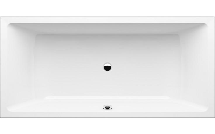 GKI MEMO klasická vana 1900x900mm středový odpad, akrylátová, bílá