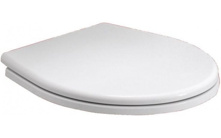 KOLO REKORD klozetové sedátko, tvrdé, z Duroplastu, s automatickým pozvolným sklápěním, bílá K90112000
