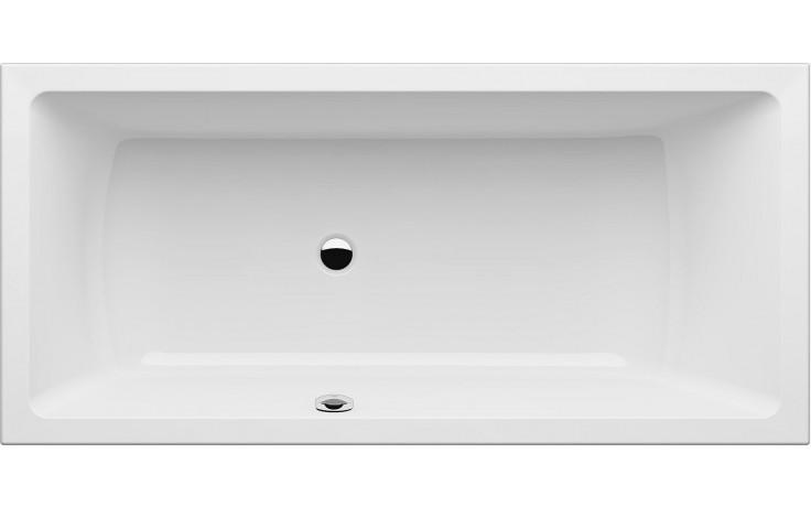GKI MEMO klasická vana 1700x800mm s přepadem vlevo, akrylátová, bílá