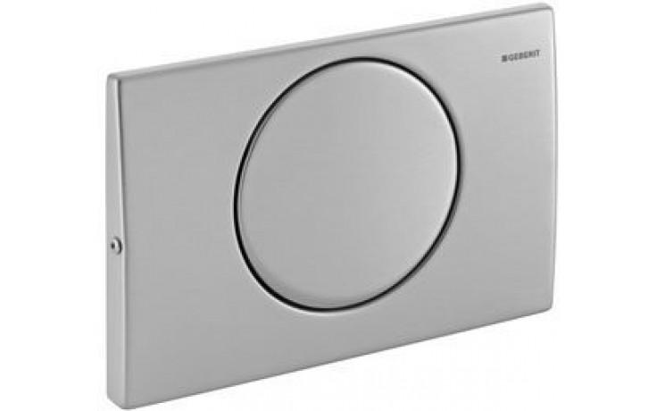GEBERIT MAMBO ovládací tlačítko 24,6x16,4cm, nerezová ocel 115.751.00.1