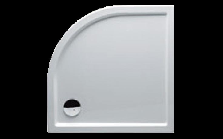 Vanička plastová Riho(JVP) čtvrtkruh ZÜRICH 280 DA8800500000000 DA88 90x90x4,5cm bílá