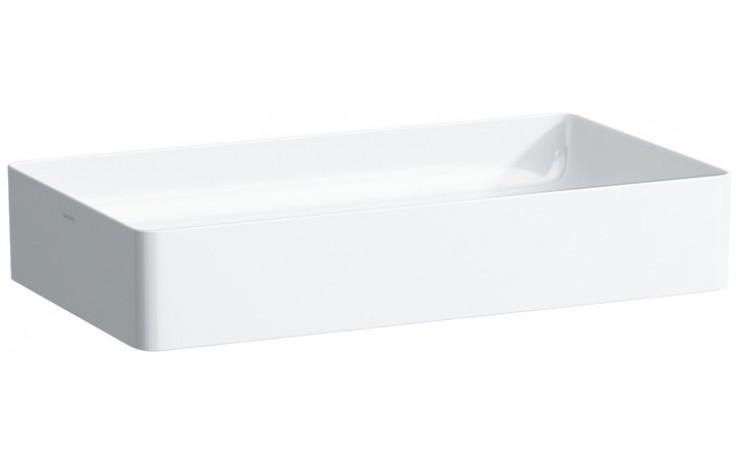 Mísa umyvadlová Laufen bez otvoru Living square 60 cm bílá