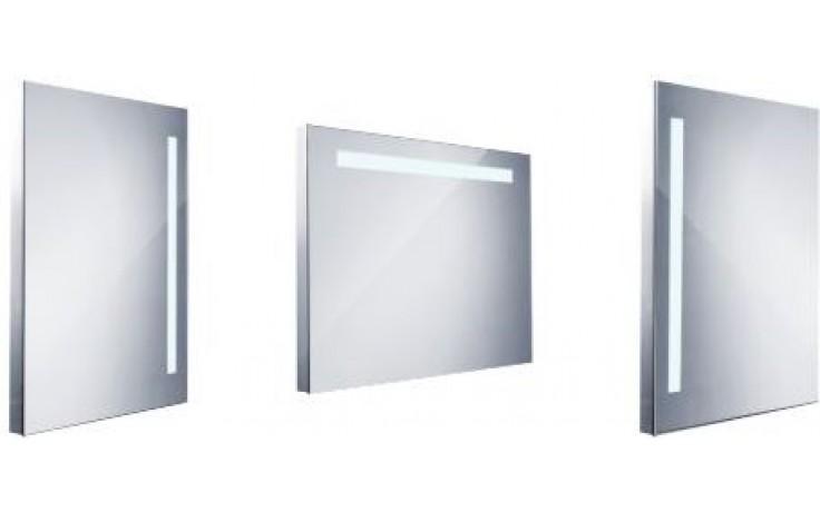 NIMCO 1000 zrcadlo 600x800mm s LED osvětlením, hranaté, chrom ZP 1003