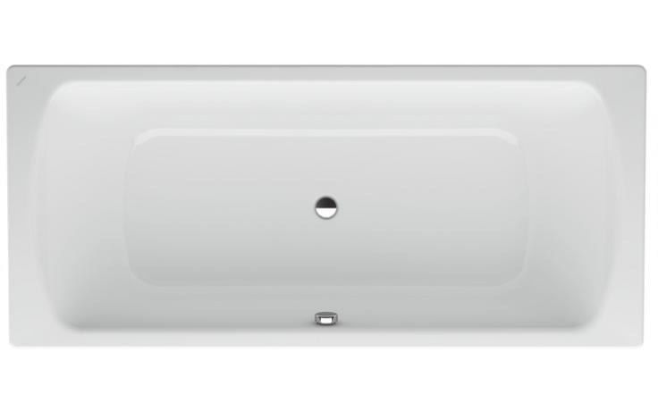 LAUFEN MODERNA PLUS vana ocelová 1800x800mm obdélníková, s protihlukovou izolací, bílá 2.2506.0.000.040.1
