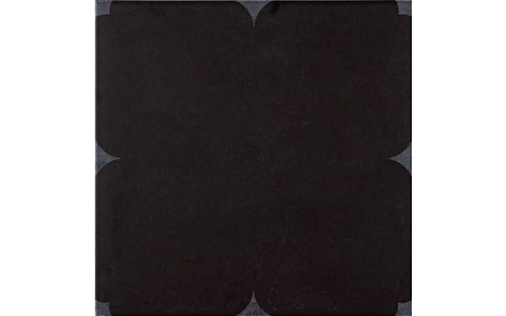 IMOLA HABITAT dekor 60x60cm black, MEMORIES 4 60N