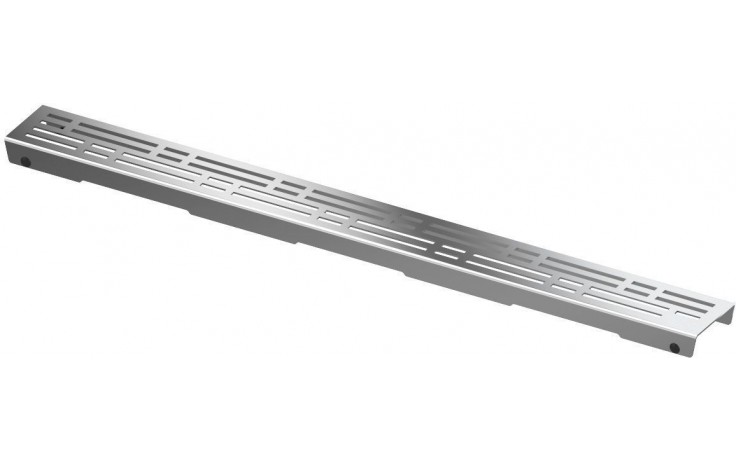 CONCEPT 200 BASIC rošt 1200mm rovný, pro osazení do těla žlabu, nerezová ocel
