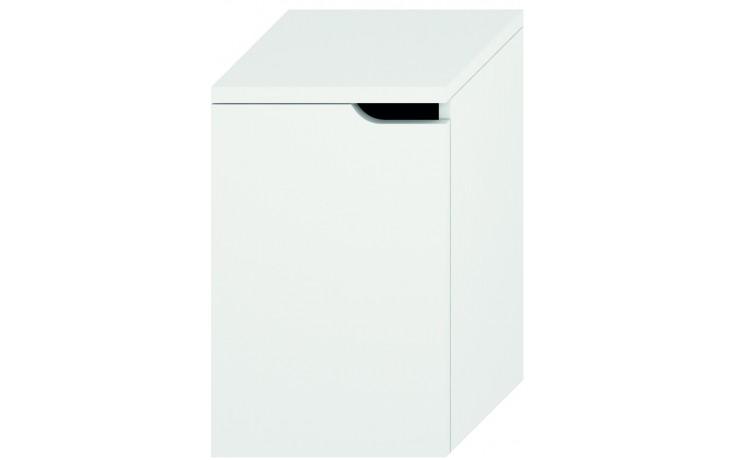 JIKA MIO střední skříňka 363x340mm levá, bílá/bílá