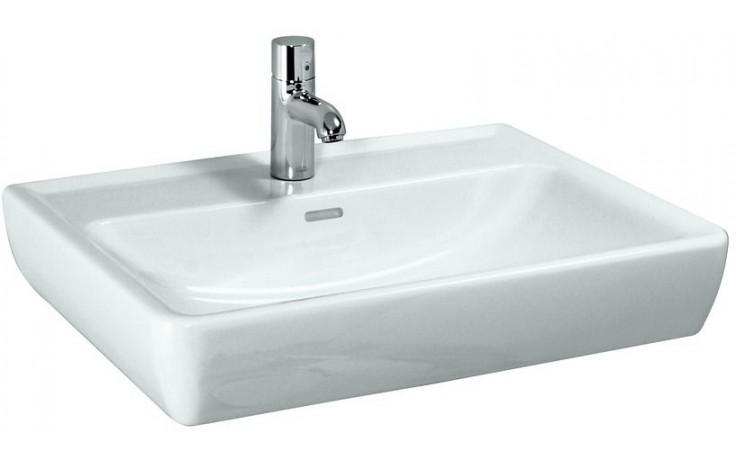 Umyvadlo klasické Laufen bez otvoru Pro A 55 cm bílá